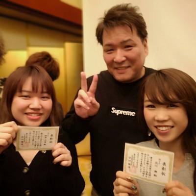 スタイリスト舞さんとアシスタント汐里が月間MVPに選ばれました!!!☆ミ